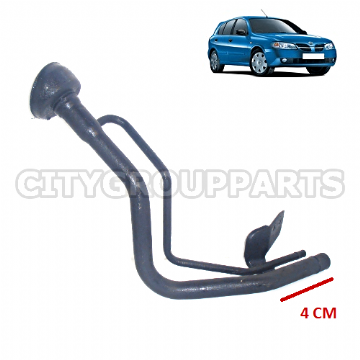 NISSAN ALMERA N16 MODELS FROM 2000 TO 2006 PETROL FUEL NECK FILLER METAL PIPE